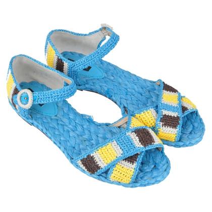 Dolce & Gabbana RUNWAY Sandals Blue