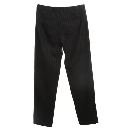 Kilian Kerner Pantaloni di lana gessato