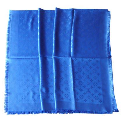 Louis Vuitton Tuch in Blau