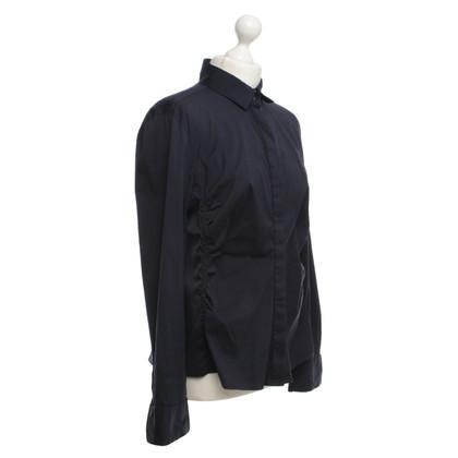 Windsor Blusa in Dark Blue