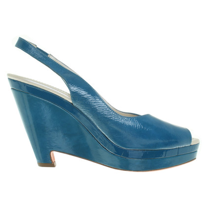 Jil Sander Wedges in Blau