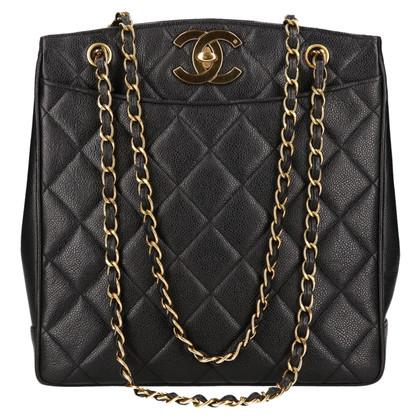 Chanel Schultertasche mit Stepp-Muster
