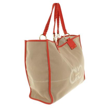 Salvatore Ferragamo Handtasche aus Materialmix
