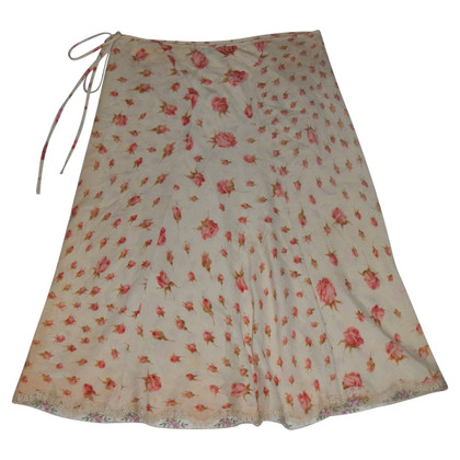 Blumarine skirt with roses