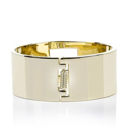 Fendi Il braccialetto fuxia in oro