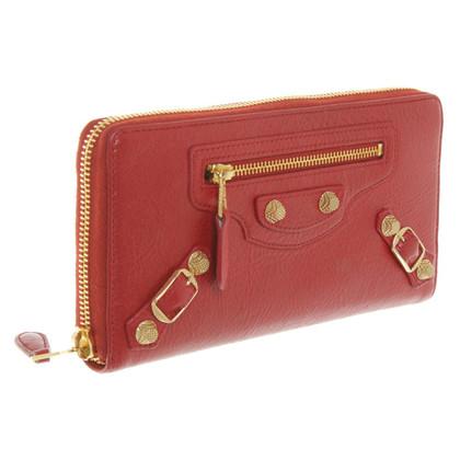 Balenciaga Portemonnaie in Rot