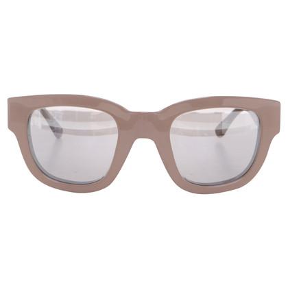 "Acne Sunglasses ""Frame"" in beige"
