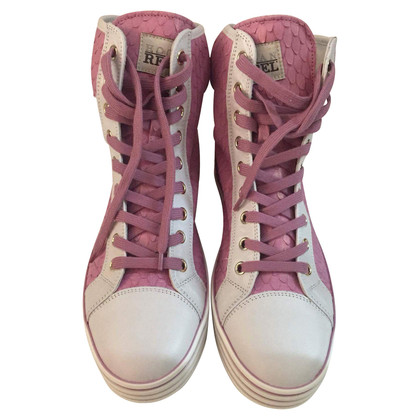 Hogan Sneakers in pink/white