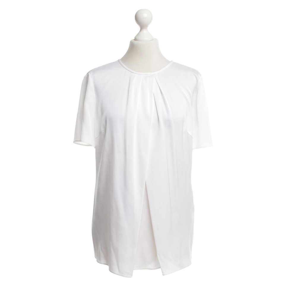 Hugo Boss Silk blouse in white