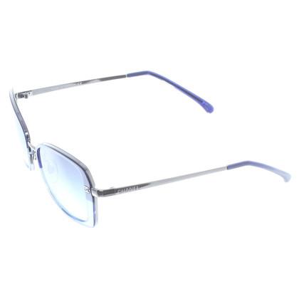 Chanel Zonnebril blauw
