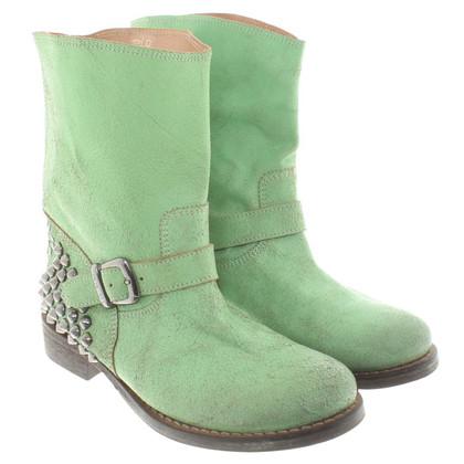 Twin-Set Simona Barbieri Stivali in pelle in verde