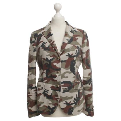 Tagliatore Blazer mit Camouflage-Muster