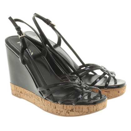 Prada Patent leather sandals