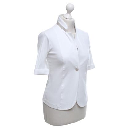Fabiana Filippi Jersey Blazer In White