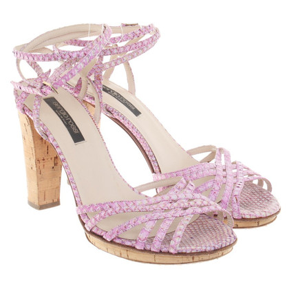 Sergio Rossi Sandals in Pink