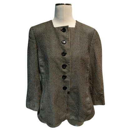 Akris Jacket with pepita pattern