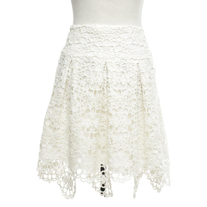 Ralph Lauren Lace skirt in cream