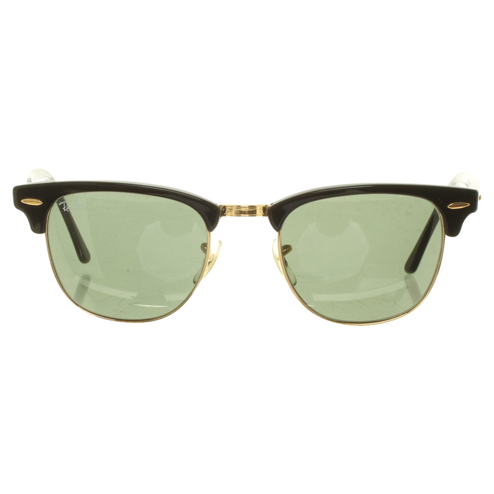 ray ban sonnenbrille clubmaster classic second hand. Black Bedroom Furniture Sets. Home Design Ideas