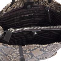 Prada Phyton leather bag