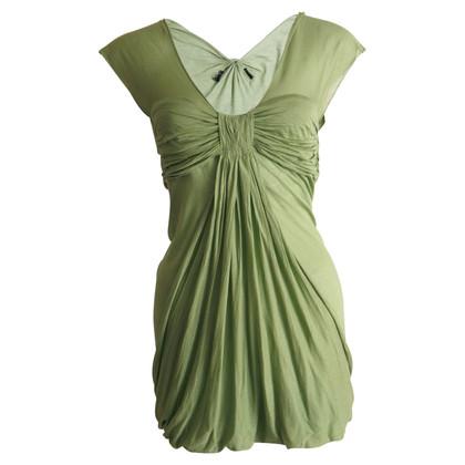 Andere merken groene gedrapeerd jurk