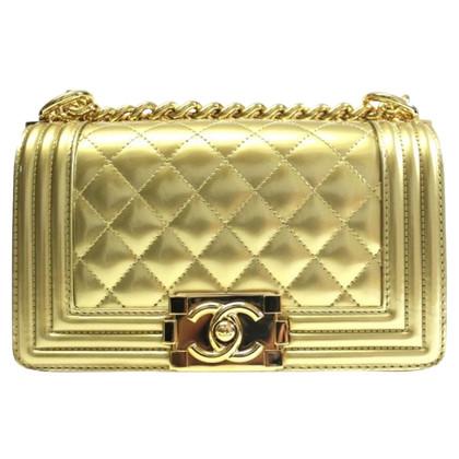 "Chanel ""Boy Bag"" in gold"