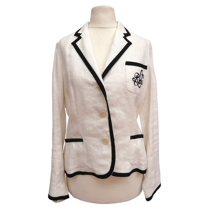 Ralph Lauren Lino Blazers con strappi
