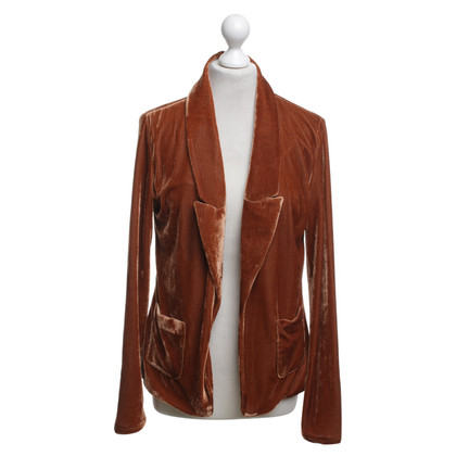 Maison Scotch Velvet blazer in brown