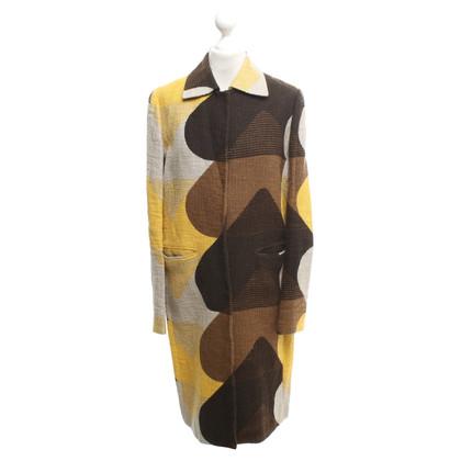 Prada Coat with pattern