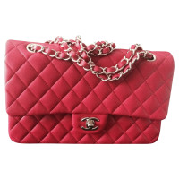 "Chanel ""Classic Flap Bag Medium"" in red"