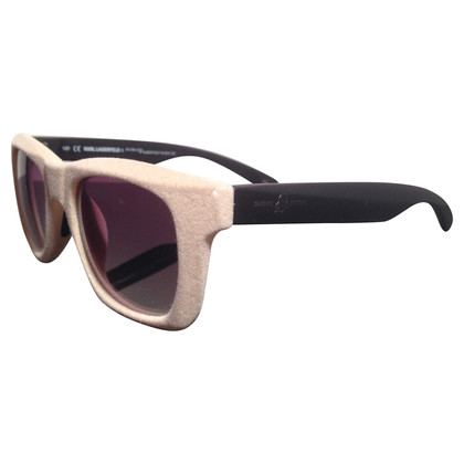 Karl Lagerfeld Sunglasses with velvet coating