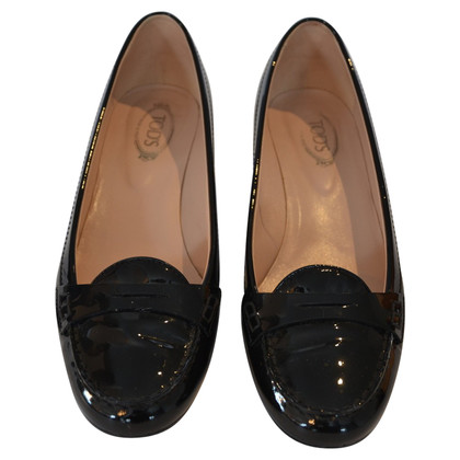 Tod's pumps in lakleder