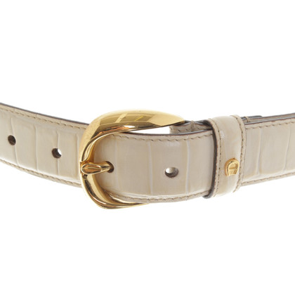 Aigner Belt in cream