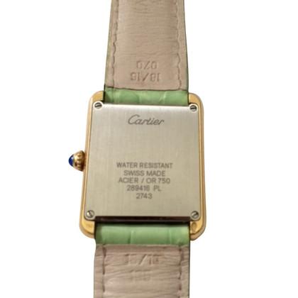 "Cartier Clock ""Tank Solo Small"""