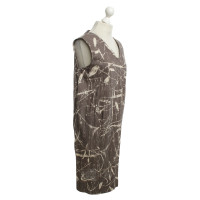 Marni Dress with pattern in brown / beige