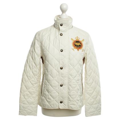 Ralph Lauren Cream-colored quilted jacket