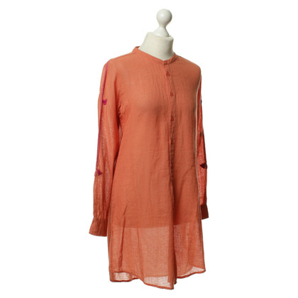Antik Batik Shirt dress in Orange