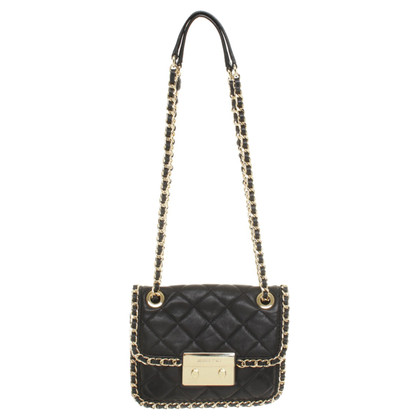 "Michael Kors ""Carine Medium Shoulder Bag Black"""