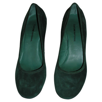 Costume National pumps en vert