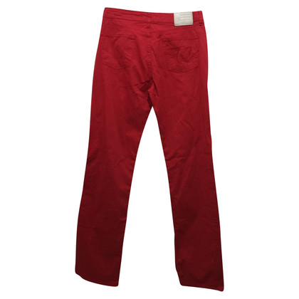Thomas Burberry Rote Jeans