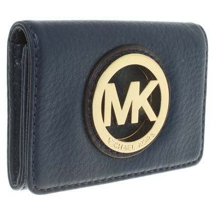Michael Kors Porta carte in blu scuro