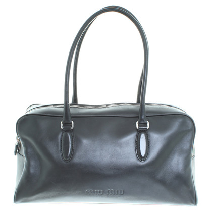 Miu Miu Leather handbag in black