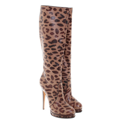 Casadei Boots in animal design