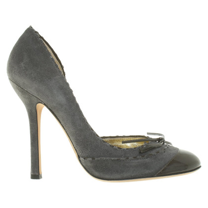 Dsquared2 pumps pelle scamosciata