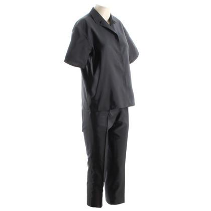 Prada Pantalone tuta in seta