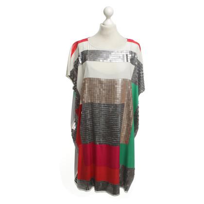 DKNY abito tunica con paillettes