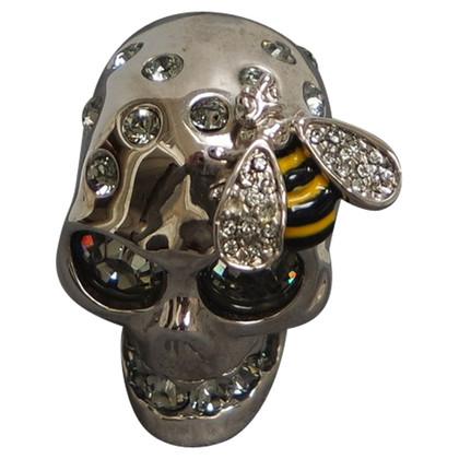 Alexander McQueen ALEXANDER MCQUEEN skull ring