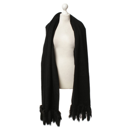 Other Designer Unger - wool scarf in black