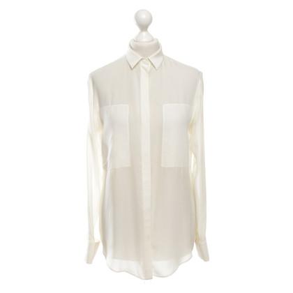 T by Alexander Wang Crème blouse