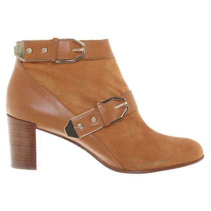 Rachel Zoe Suede Boots in Light Brown