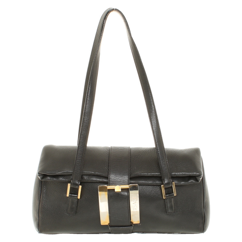 44e32e239ced Gianni versace handbag in black second hand gianni versace handbag jpg  500x500 Gianni versace purses handbags